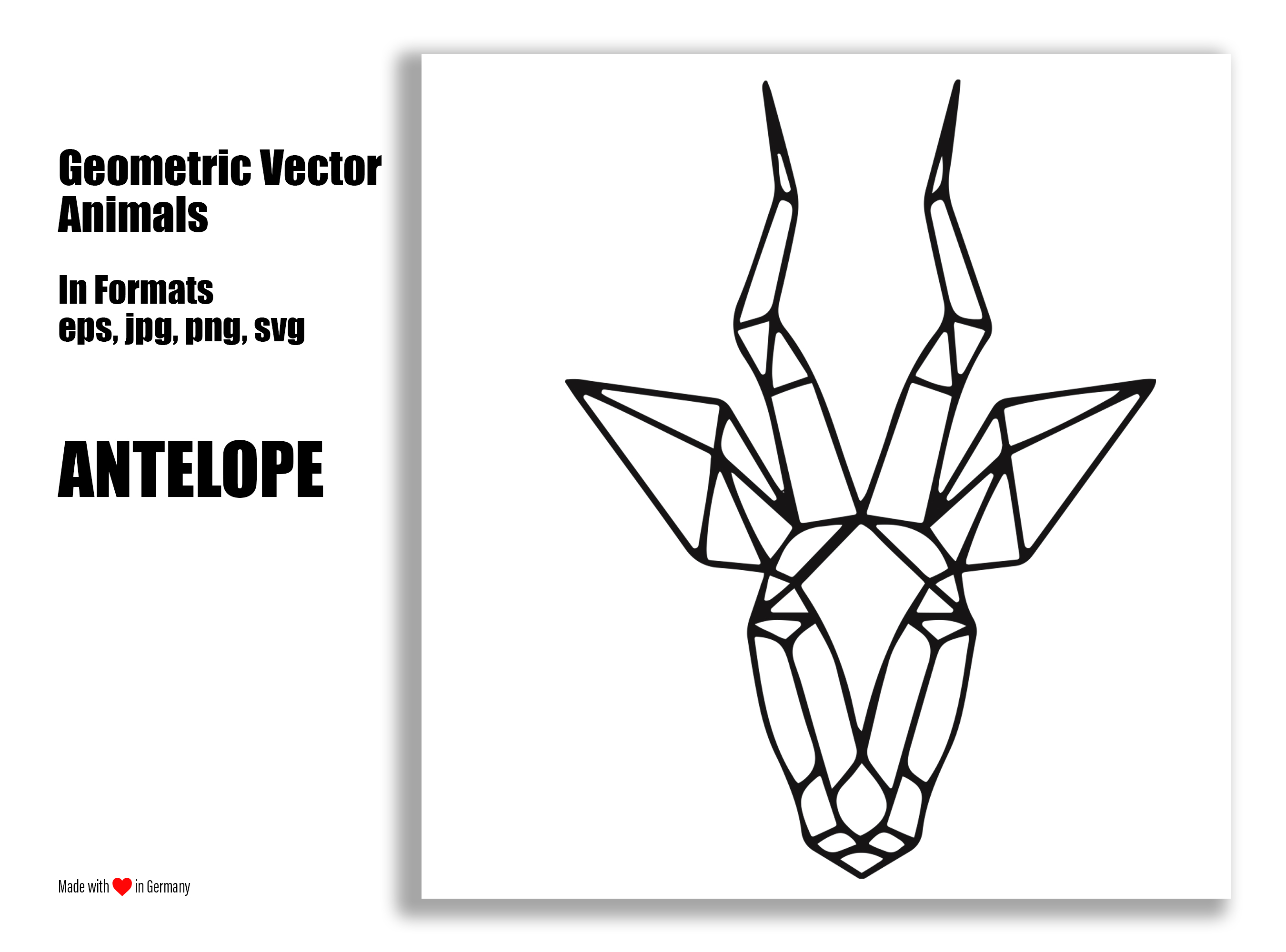 Geometric Vector Animals