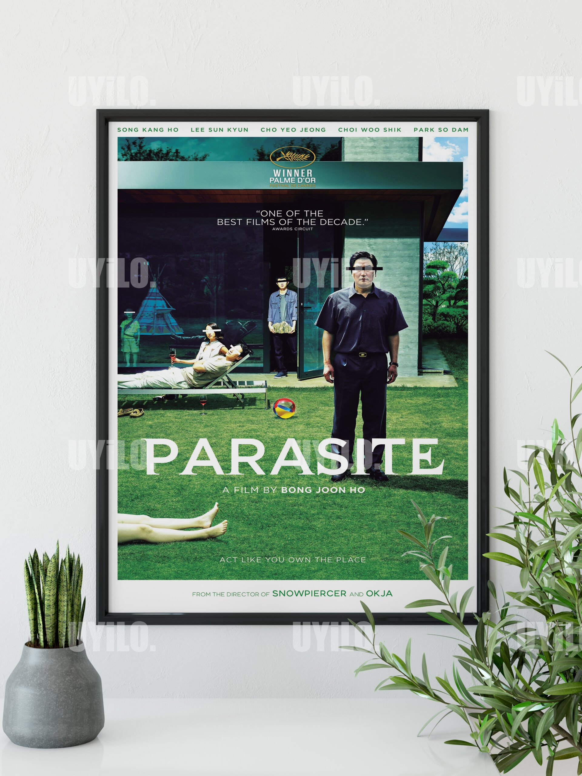 Parasite 2019 Poster Movie Poster Print Print Instant Download Mo
